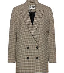 kelly blazer blazer kavaj beige just female