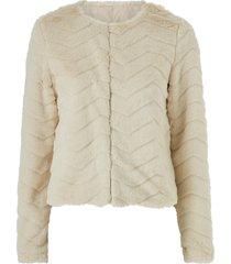 fuskpäls vmbrooklyn faux fur short jacket