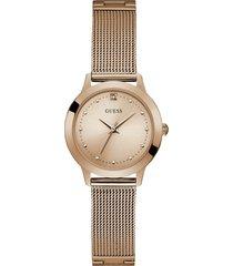 reloj guess chelsea/ w1197l6 - oro rosa
