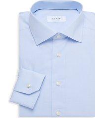 contemporary-fit bird's eye dress shirt