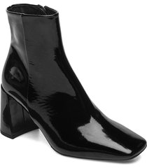 booties 5120 shoes boots ankle boots ankle boot - heel svart billi bi