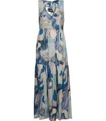 jennifer dress maxi dress galajurk multi/patroon twist & tango