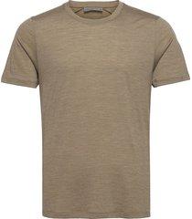 mens sphere ss crewe t-shirts short-sleeved brun icebreaker