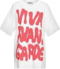 jeremy scott designer t-shirts & tops, graffiti print white cotton women's t-shirt