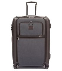 men's tumi alpha 3 short trip wheeled 26-inch packing case - grey