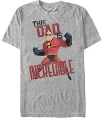 disney men's the incredibles this dad, short sleeve t-shirt