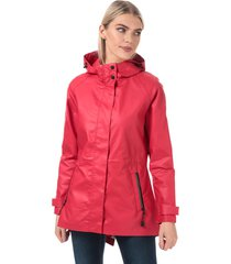 womens consort rubber coated jacket