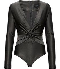 alexa body t-shirts & tops bodies grå birgitte herskind