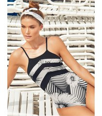chamela 23515 - entero de moda tipo halter para mujer - vestido de baño