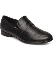 anine loafers låga skor svart ecco