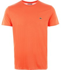 lacoste pima cotton jersey t-shirt - dianthus th6709-aee