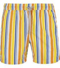 capri code multicolor striped swimsuit