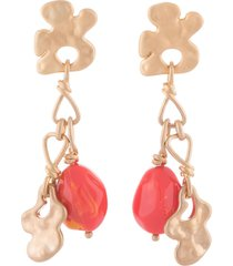 ports 1961 chain slip-on earrings - gold