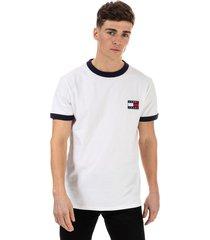 mens branded ringer t-shirt