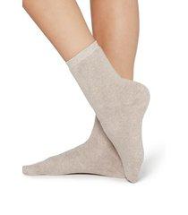 calzedonia short cotton thermal socks woman nude size tu