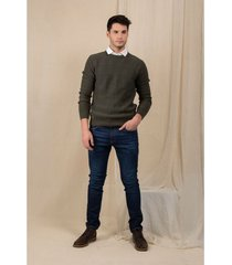 jeans semifitted denim oscuro