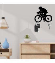 porta chaves bicicleta único