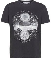 trust t-shirts & tops short-sleeved silver iro