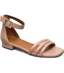 sandals 4028 shoes summer shoes flat sandals beige billi bi