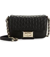 agyness leather crossbody bag