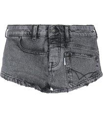 fap filles a papa denim shorts