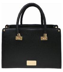 bebe bella smooth medium satchel