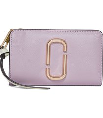 marc jacobs the snapshot compact wallet - purple