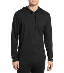 men's polo ralph lauren pullover hoodie, size medium - black