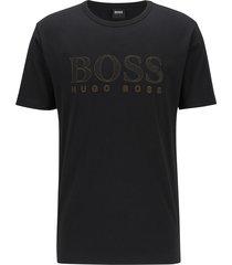 hugo boss t-shirt tee gold donkerblauw 50448702/001