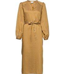 diana dress knälång klänning gul second female