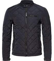 jacket doorgestikte jas blauw replay
