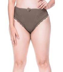 calcinha sempre sensual lingerie fashion marrom - kanui