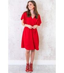 florence jurk rood