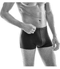 hanro heren ondergoed cotton superior boxer grijs 073086