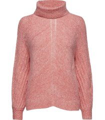 high heart turtleneck gebreide trui roze odd molly