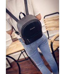 mochila de mujer/ mochila escolar para mujer mochilas-negro
