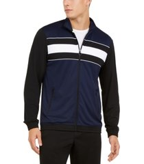 id ideology men's colorblocked track jacket, created for macy's