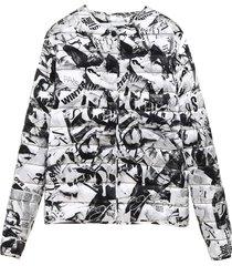 balenciaga journal jacket