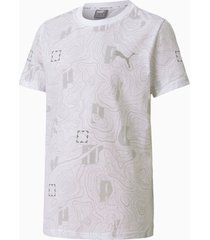 active sports t-shirt, wit, maat 116 | puma