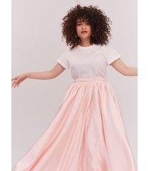 light pink the ball skirt