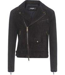 dsquared2 suede jacket jacket