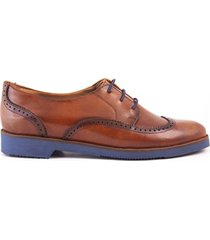 mocasin tipo oxford café caprino