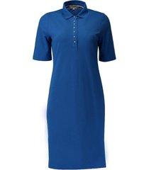 polo jurk kobaltblauw