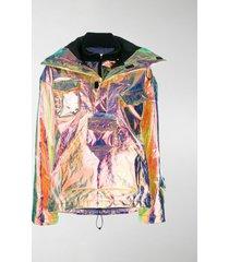 maison margiela iridescent bomber jacket