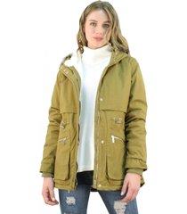 chaqueta londres verde oliva jacinta tienda