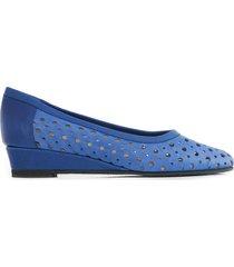 zapato azul briganti mujer peru