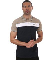 mens empire panel polo shirt