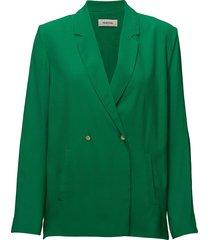 gabriella blazer blazer kavaj grön modström