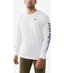 men's long sleeve crewneck tee