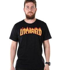 camiseta bandup! bdp clothing litchfield masculina